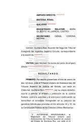 AMPARO DIRECTO 40/2005 - Consejo de la Judicatura Federal
