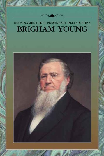 insegnamenti dei presidenti della chiesa brigham young