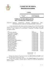 imposta municipale propria sperimentale (imu) - Comune di Sissa