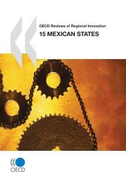 OECD Reviews of Regional Innovation: 15 Mexican States