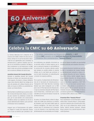 Celebra la CMIC su 60 Aniversario (Revista World ... - ComFin