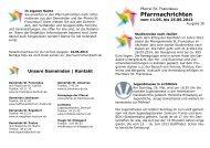 Pfarrnachrichten (PDF)
