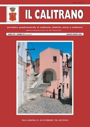 IL CALITRANO N. 29 x PDF