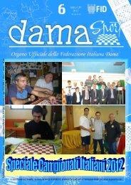 damasport 6.pdf - Federazione Italiana Dama