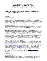 ufficio informagiovani - Comune di Piana degli Albanesi