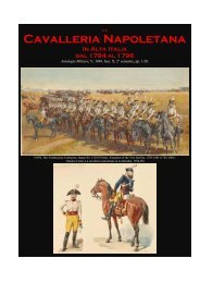 Cavalleria Napoletana - Societa italiana di storia militare