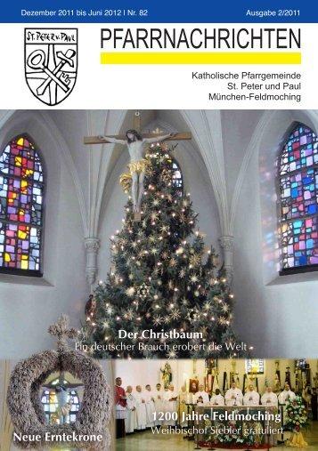 ++Pfarrnachrichten Nr. 82 von Dezember 2011 bis Juni 2012 - Kath ...
