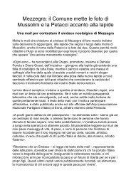 una mail con un testo da loro predisposto - ANPI Bovisio Masciago