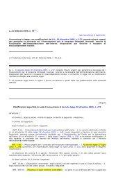 L. 49 – Conv in legge con modif del D.L. 30.12.2005 N 272, recante