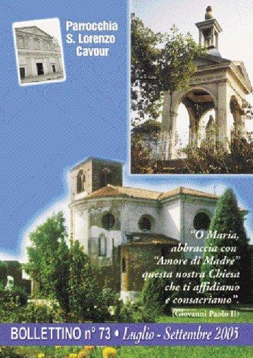 Bollettino Parrocchiale n. 73 - Cavour