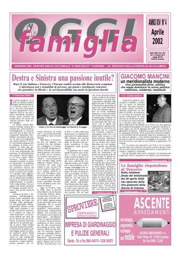 Apr - Centro Socio Culturale V. Bachelet