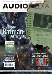 Arkham City - Audio Media