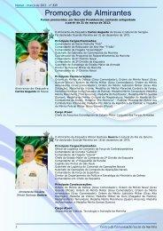 Promoção de Almirantes - Marinha do Brasil