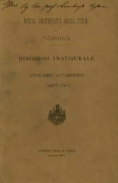 REGIA UNIVERSITÀ DEGLI STUD - Università degli Studi di Torino