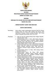 bupati banyuwangi salinan peraturan daerah kabupaten ...