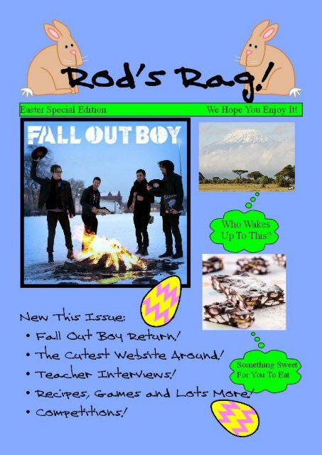 Rods Rag Issue 2 March 2013 - The Rodillian Academy