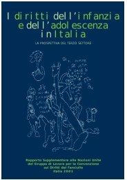 I diritti dell'infanzia e dell'adolescenza in Italia - Il Pubblico Tutore ...