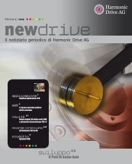 Scarica il file PDF - Harmonic Drive AG