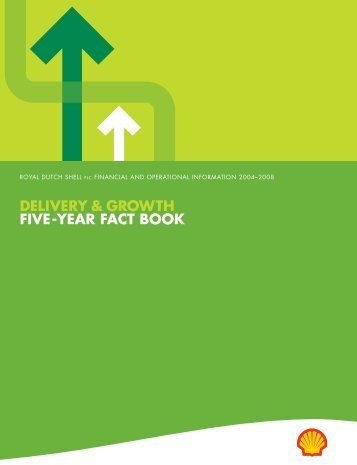DELIVERY & GROWTH FIVE-YEAR FACT BOOK