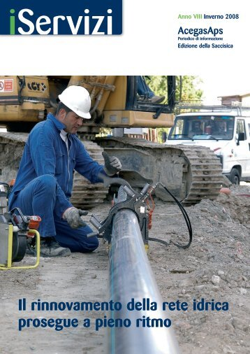 Il rinnovamento della rete idrica prosegue a pieno ritmo