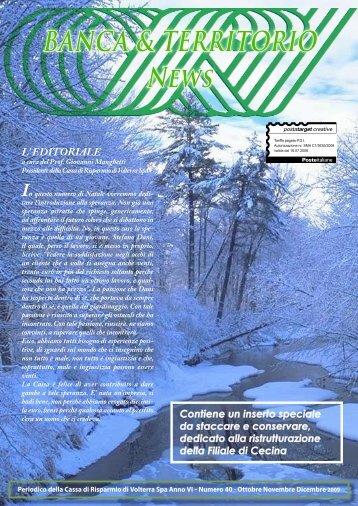 Dicembre - Cassa di Risparmio di Volterra