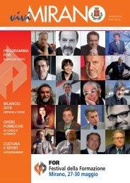 Anno XIII n. 2 maggio 2010 - Comune di Mirano