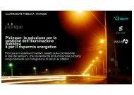 Picinque: la soluzione per la gestione dell'illuminazione pubblica e ...