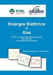 Energia elettrica e gas - Enforce.een.eu