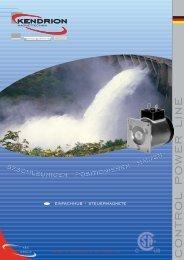 Download: CONTROL POWER LINE Katalog - Kendrion Binder
