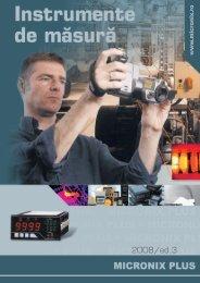 Instrumente de masura - editia 3 - Micronix Plus