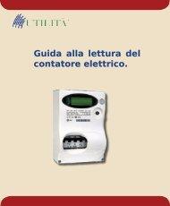 Guida alla lettura del contatore elettrico. - Utilità