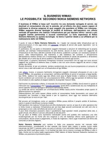 WiMAX Business e services .pdf - WiMAX-Italia