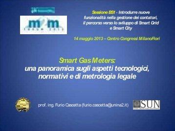 Smart Gas Meters: una panoramica sugli aspetti ... - M2M Forum