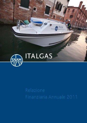 attività non correnti - Italgas