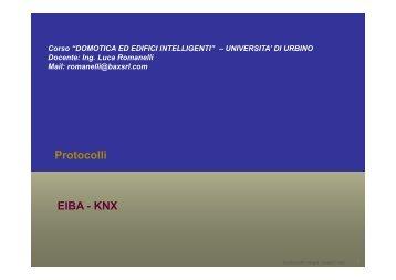 KNX - Istituto di Scienze e Tecnologie dell'Informazione