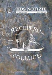 polluce numero speciale - Historical Diving Society Italia