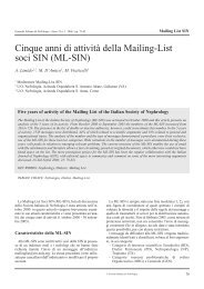 p. 079-082 Limido - Società Italiana di Nefrologia
