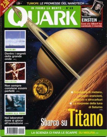 Quark - Scuola Superiore Sant'Anna