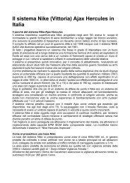 Il sistema Nike Hercules in Italia - Le Gallerie di Modellismo Più