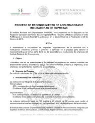PROCESO DE RECONOCIMIENTO DE ACELERADORAS E INCUBADORAS DE EMPRESAS