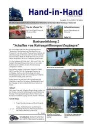 Hand-in-Hand, Juli 2004.pub - THW OV Bad Homburg / Oberursel