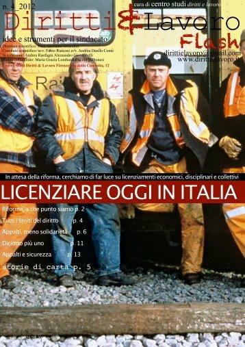 LICENZIARE OGGI IN ITALIA - Falcri