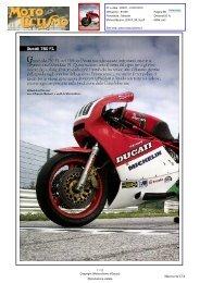 Ducati750 FI ancora oggi asse portante nella ... - Marzocchi