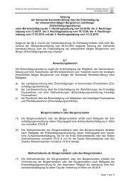 Satzung der Gemeinde Henstedt-Ulzburg über die Entschädigung ...
