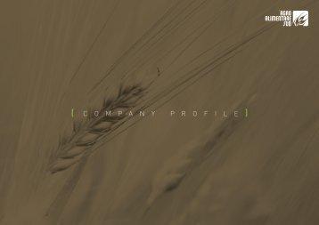 ( C O M P A N Y P R O F I L E ) - Agroalimentare Sud