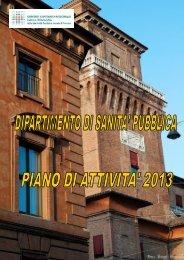 piano attivita dsp 2013-2 - Azienda USL di Ferrara