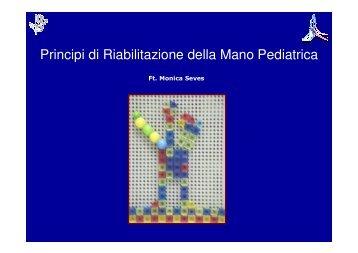 Principi di Riabilitazione della Mano Pediatrica