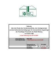 Satzung über den Ersatz des Verdienstausfalles, den ... - Olsberg