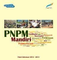 Paket Informasi PNPM Mandiri (2012 - 2013)