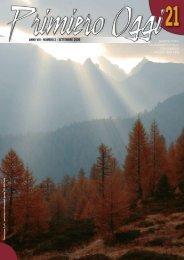 ANNO VIII - NUMERO 2 - SETTEMBRE 2009 - Comunità di Primiero